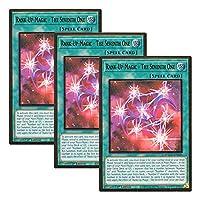 【 3枚セット 】遊戯王 英語版 MAGO-EN049 Rank-Up-Magic - The Seventh One RUM-七皇の剣 (プレミアムゴールドレア) 1st Edition