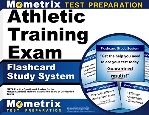 Athletic Training Exam Flashcard Study System: NATA Test Practice Questions and Review for the National Athletic Trainers' Association Board of Certification Exam (Cards)