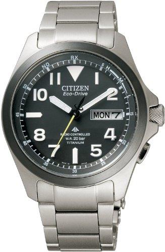 [シチズン]CITIZEN 腕時計 PROMASTER プロマスター エコ・ドライブ 電波時計 ランドシリーズ PMD56-2952 メンズ