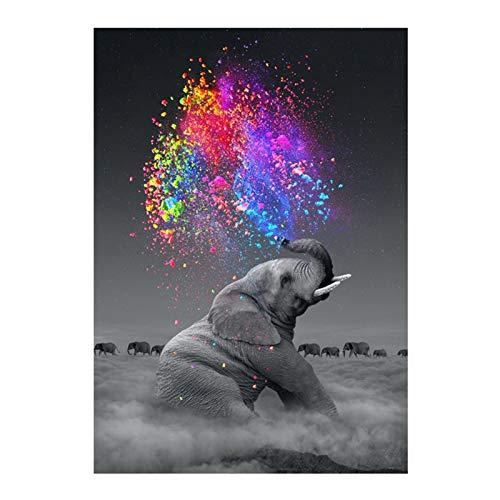 Ajcoflt 5D kits de pintura de diamante broca completa DIY pintura de diamante pintura de cristal de strass pintura ponto cruz artesanato para decoração de parede de casa presente 30 * 40 cm