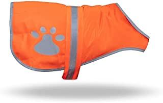 maggift Dog Reflective Vest,Pet Safety Vest Orange