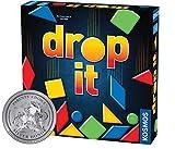 Themse & Kosmos 692834 Drop It | Das verblüffende Spiel für die ganze Familie | Familienstrategie-Brettspiel, 2-4 Spieler |