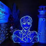 Lámpara de Anime 3D Killing Stalking Sangwoo Kawaii luces de noche que cambian de Color decoración de dormitorio de luz nocturna para regalo de Navidad-sin control remoto