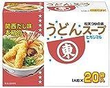 Higashimarushoyu Udon sopa 8g (20p) piezas X5