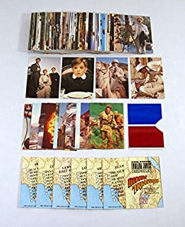 1992 Pro Set Young Indiana Jones Chronicles Set (95) 3D Cards Foldouts 3D Viewer