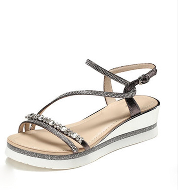 Sandales Sandales Sandales de mode Weaver, sandales d 'été  online shopping och modebutik