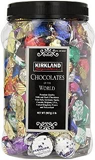 KIRKLAND Signature Chocolates of the World in Assortment Jar, 2 lb. (Pack of 3)