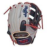 ローリングス(Rawlings) 野球用 軟式 HOH® MLB COLORSYNC [内野手用] サイズ 11.5 GR1HMCK4 グレー/ネイビー サイズ 11.5 ※右投用