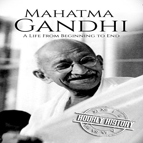 Page de couverture de Mahatma Gandhi: A Life from Beginning to End