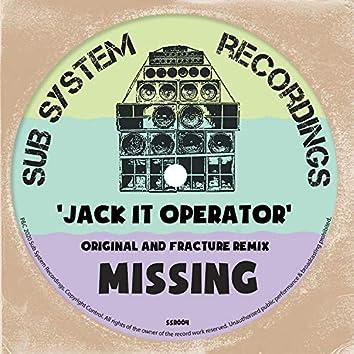 Jack It Operator (Fracture Remix) / Original Mix