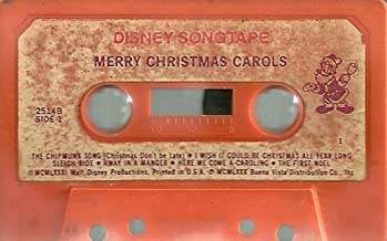 Disney Songtape Merry Christmas Carols By Walt Disney Productions