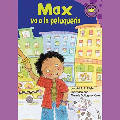 Max va a la peluqueria (Max Goes to the Barber) audiobook cover art