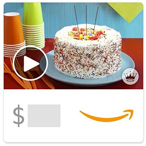 Amazon eGift Card - Birthday Cake (Animated) [Hallmark]