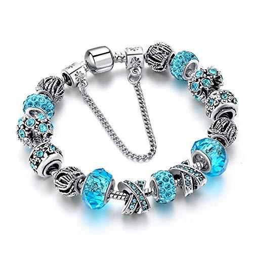 NA Armband SchmuckArmbänder & Armreifen Für Frauen Silber Farbe Armband Femme Hochzeitsschmuck Armbänder