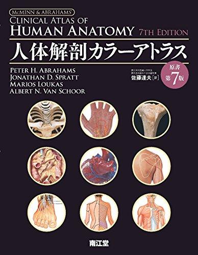人体解剖カラーアトラス