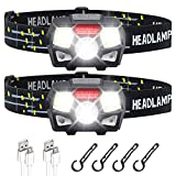 Best Rechargeable Headlamps - STURME Rechargeable Headlamp Flashlight 2 Pack 800 Lumens Review