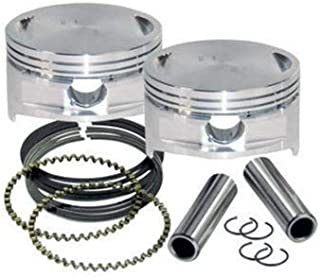 S&S Cycle Forged Piston Kit for 106ci. Stroker Kit - Standard Bore 3 7/8in. - .010in. Oversized 92-1211