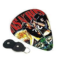 Guns N' Roses ガンズ アンド ローゼズ ポスター ギターピック ウクレレピック 6枚セット エレキギター プレクトラム 弦楽器 ティアドロップ 快適な手触り 超軽量 Guitar Picks 3種類の厚み0.96mm/ 0.71mm/ 0.46mm