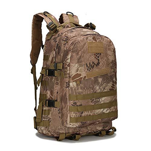 Jungle camouflage militaire tactique Sacs /à dos de petite randonn/ée Sac ext/érieur Trekking Camping tactique Molle Lot