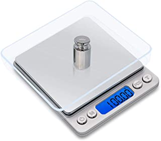 Mengshen Digital Jewelry Scale/Kitchen Food Scale Steelyard 1.1lb/500g (0.01g), High Precision Milligram Pocket Scale Sens...