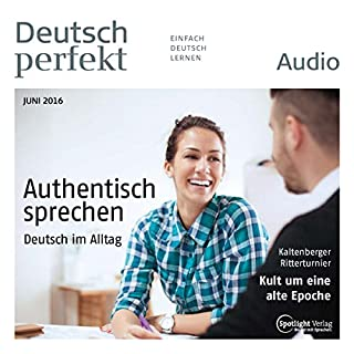 Deutsch perfekt Audio. 6/2016 Titelbild