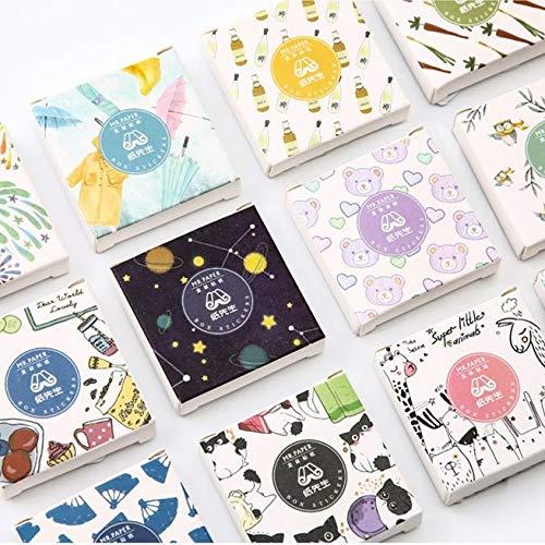 Blour mode papier zelfklevend album knutselen dagboek zelfklevend handboek scrapbooking sticker label 40 stuks