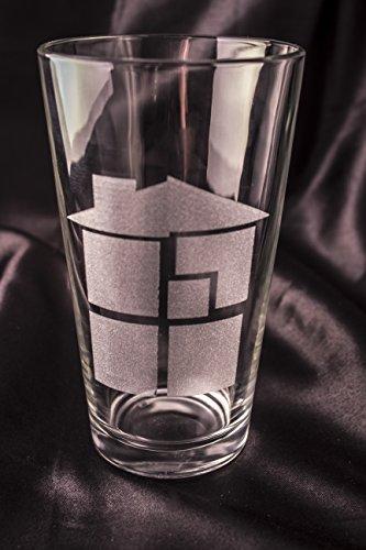 Homestuck Pint Glass - Sburb Logo