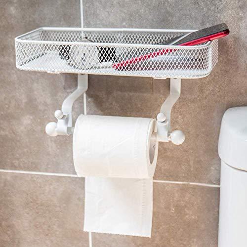 Toiletrolhouder Wc-Papier Houder Ijzer Art Toiletrolhouder Badkamer, Smeedijzeren Kunst, Geschikt Voor Thuis, Badkamer, Doucheruimte Decoration