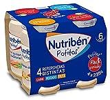 Nutribén Packs De Potitos Variados, 2 packs de 4 potitos de diferentes sabores (Carne, Pescado y Fruta)- 2 x 4 unidades x 235gr