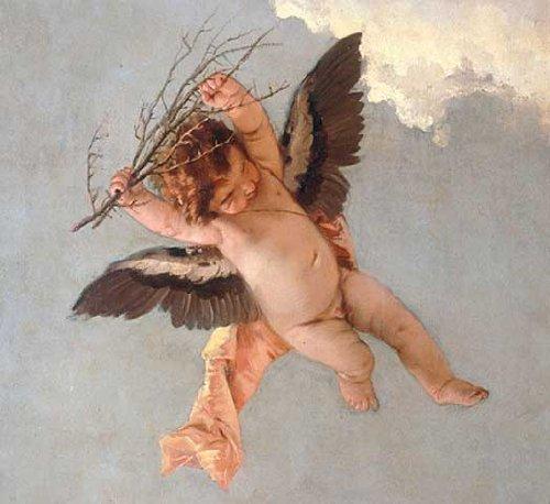 Kunst für Alle Impresión artística/Póster: Giovanni Battista Tiepolo Humilitas Mansuetudo Veritas - Impresión, Foto, póster artístico, 75x70 cm