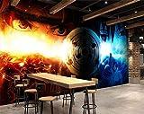 AJ WALLPAPER 3D Naruto 9 Japan Anime Fond d'écran Mur Peintures Murales Amovible Peinture Murale | Auto-adhésif Papier Peint FR...