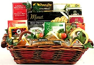 Gift Basket Village Say Cheese Gourmet Lover Gift Basket