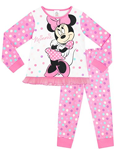 Disney Minnie Mouse - Pijama para niñas - Minnie Mouse 18-24 Meses