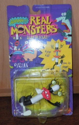 Nickelodeon Real Monsters Oblina Figure