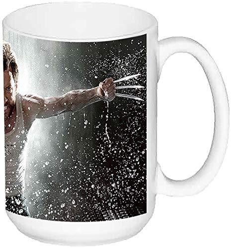 MasTazas X Men Wolverine Lobezno Hugh Jackman D Taza Grande Ceramica 15 oz ≈ 443 ml