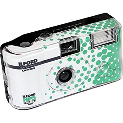 Ilford HP5 Plus Disposable Camera with Flash, Green (HP5+) by Harman