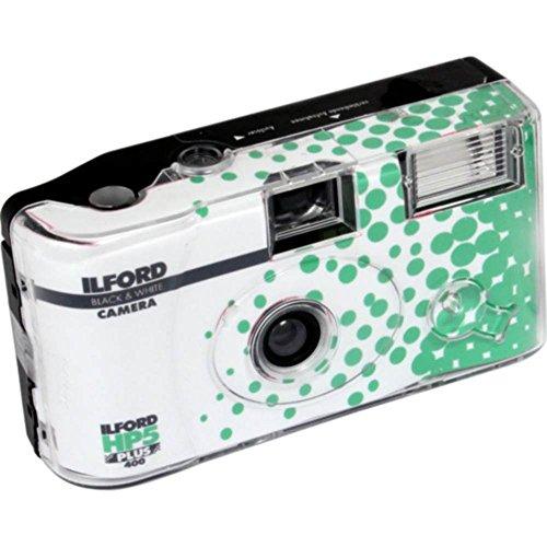Ilford HP5+ - Cámara desechable con flash, Blanco y Negro
