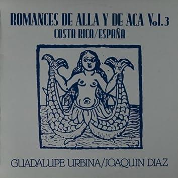 Romances de aca y de alla, Vol. 3. Costa Rica - España