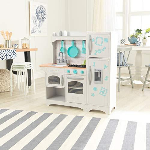 KidKraft 53424 Countryside EZ Kraft Assembly Spielküche aus Holz in Weiß - 3