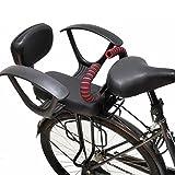 ZCVB Silla Bicicleta Nino Trasera Portaequipajes para MTB Asiento De Seguridad para Bebé con Reposabrazos Pedales Cinturón De Seguridad Ajustable Y Desmontable para Niños De 2 A 10 Años,B
