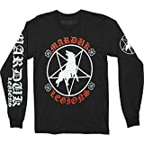 Photo de Marduk 'Legions' (Black) Long Sleeve Shirt (Small)