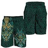 Fandao Pantalones Cortos Personalizados para Hombres, Shorts de Verano con...