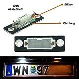 Do!LED WP4 LED Kennzeichenbeleuchtung mit E-Prüfzeichen - Neue Version mit Silikon & Dichtung = 100% wasserdicht