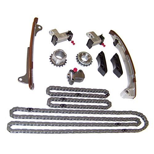 DNJ TK968 Timing Chain Kit for 2005-2015 / Lexus, Toyota/Avalon, Camry, ES350, GS300, GS350, GS450h, Highlander, IS250, IS350, RAV4, RC350, RX350, RX450h, Sienna, Venza / 2.5L-3.5L / DOHC / V6