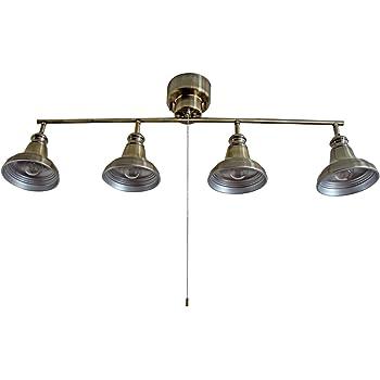 ヴェリング VELLING シーリングライト 4灯 アンティークゴールド