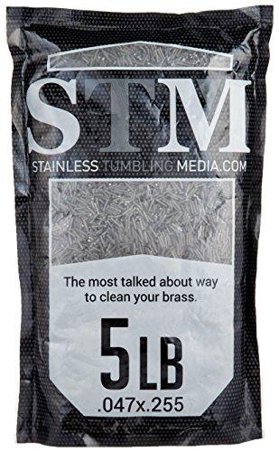 STM Stainless Tumbling Media - 5 lbs - Ammo...