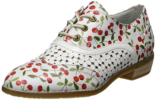 Laura Vita Damen Claudie 10 Oxfords, Weiß (Blanc), 36 EU