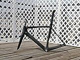 Flyxii UD Carbon opaco telaio bici strada set : 58CM telaio bicicletta (per BSA), forcella, reggisella, morsetto sedile