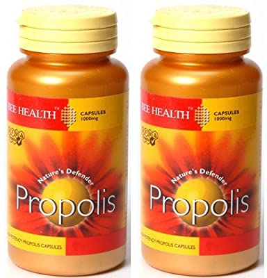 (2 Pack) - Bee Health - Propolis 1000mg | 90's (BEE-100170) | 2 PACK BUNDLE