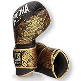 Buddha Fight Wear Guantes de Boxeo Combo Golden 10 Onz